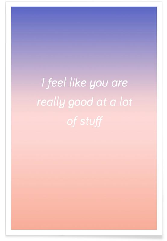 Good At Stuff Poster
