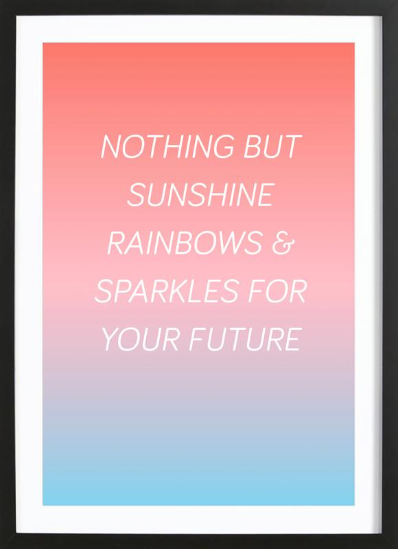 Your Future ingelijste print