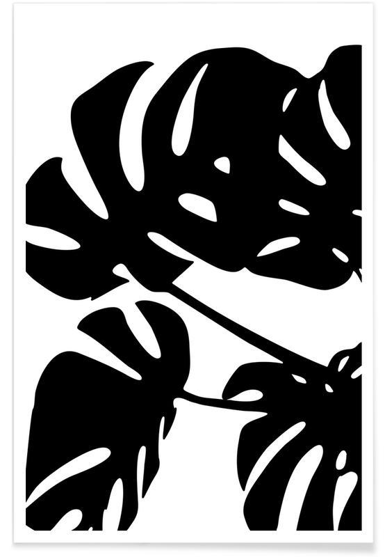 Monstera Leaf 1 -Poster