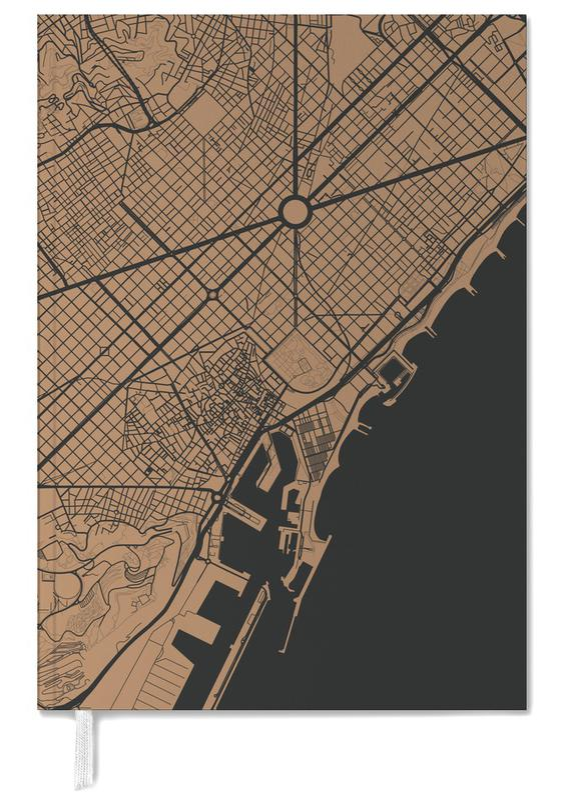 Barcelona Brown Personal Planner