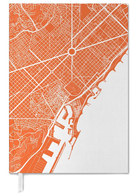 Barcelona Red Personal Planner