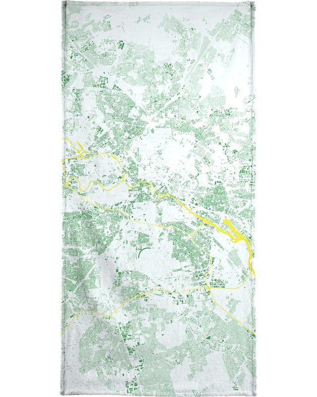 Berlin Green Bath Towel