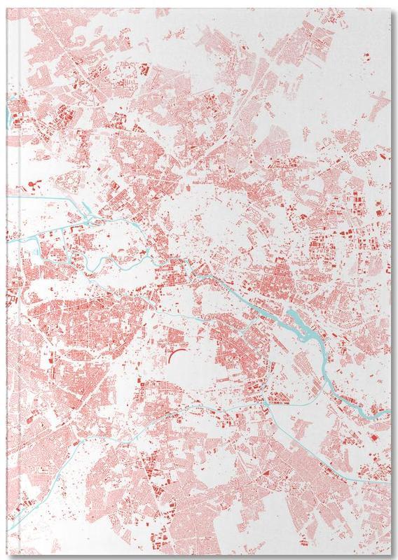 Berlin, Cartes de villes, Berlin Red Notebook