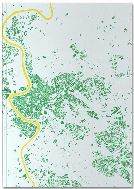 Stadtpläne, Rom, Rome Green Notebook