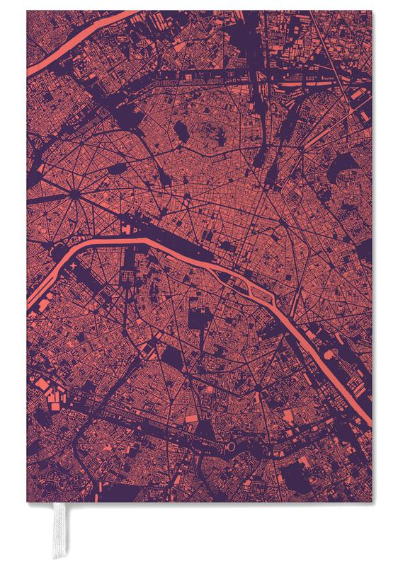 Paris Purple Personal Planner
