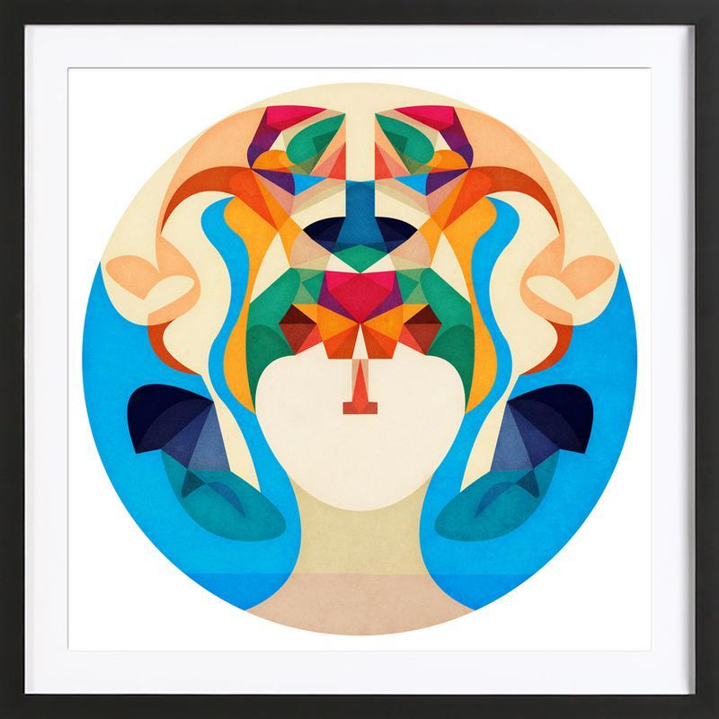 Mysterious Soul Framed Print