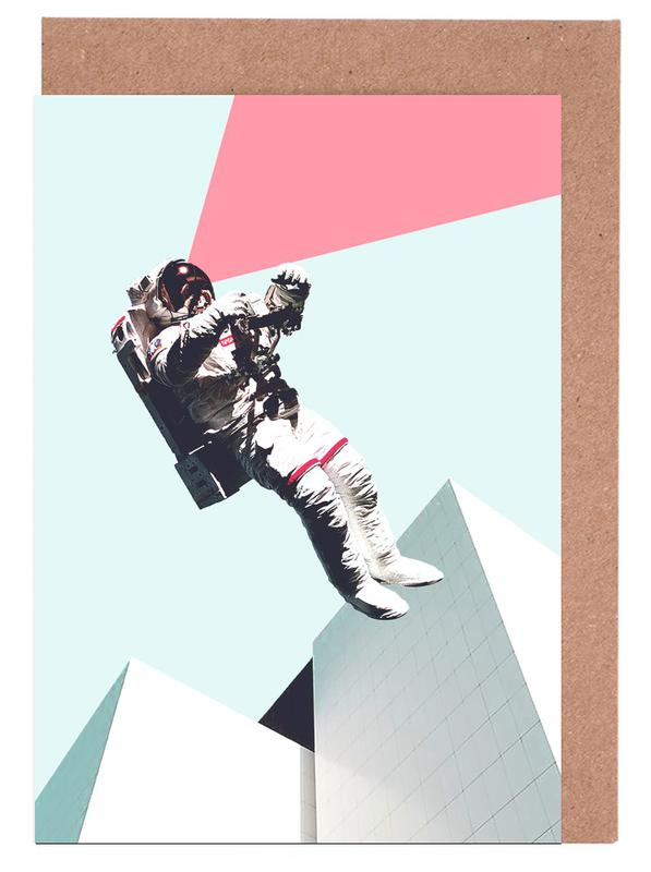 Astronauten, Out of This World -Grußkarten-Set