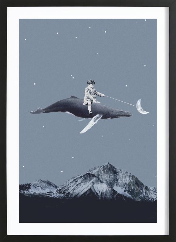 Aim For the Moon ingelijste print