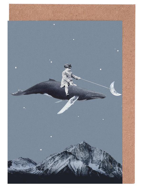 Aim For the Moon -Grußkarten-Set