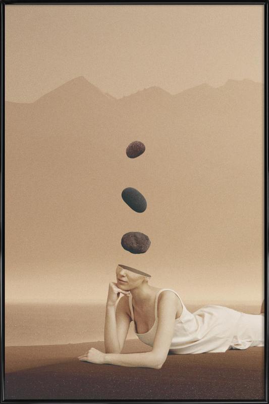 Peace of Mind 2 -Bild mit Kunststoffrahmen