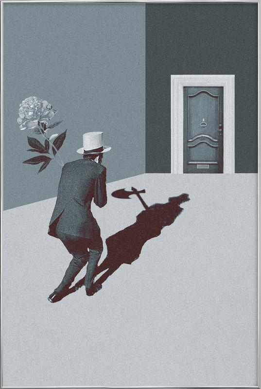 Date Night -Poster im Alurahmen