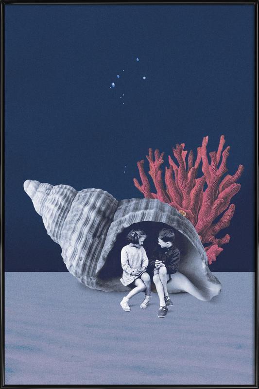 Can You Hear the Ocean? ingelijste poster