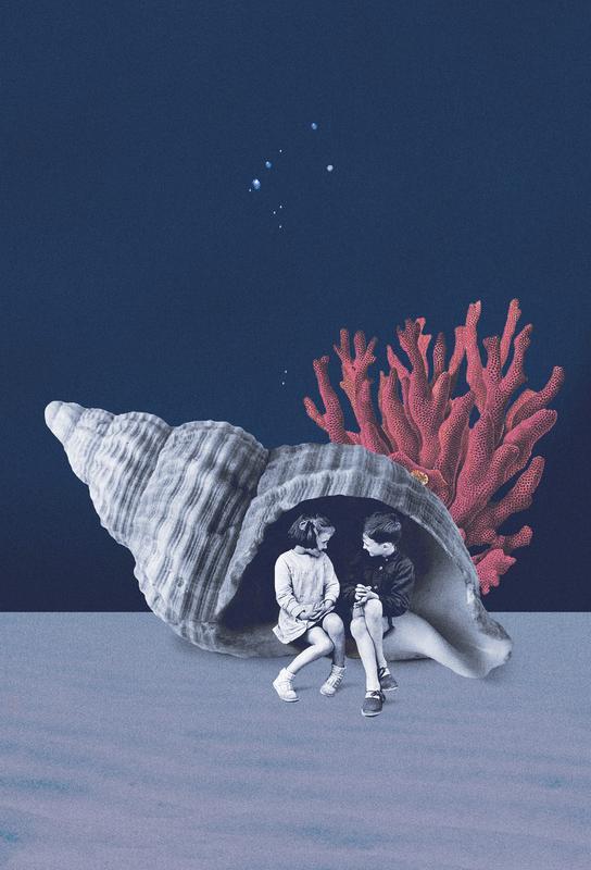 Can You Hear the Ocean? acrylglas print