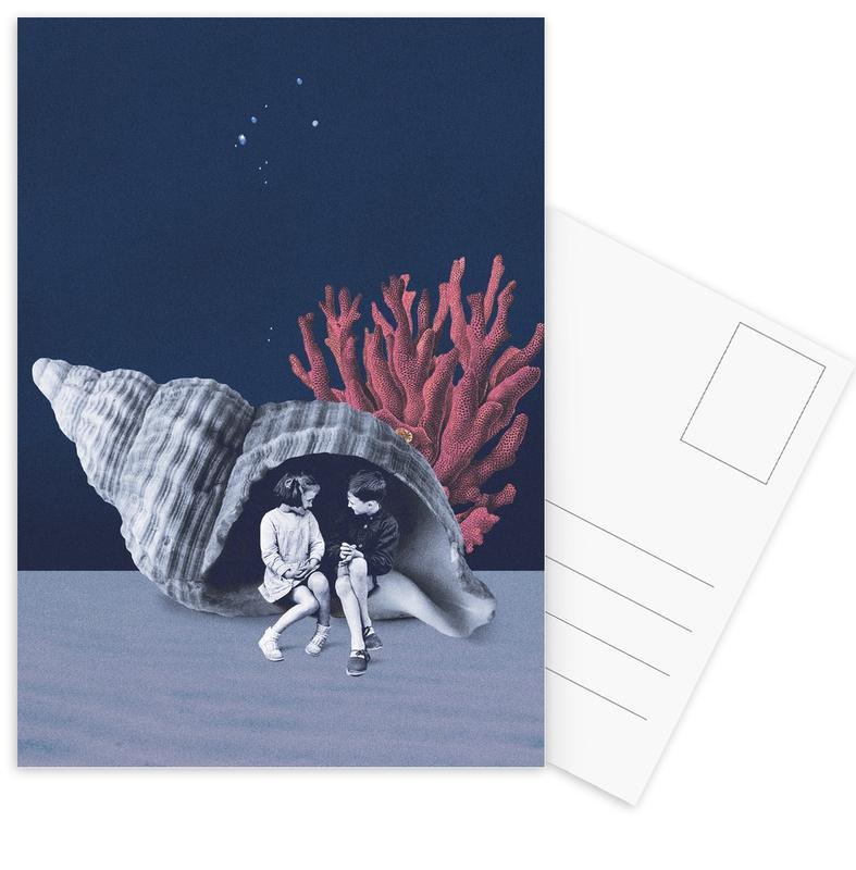 Can You Hear the Ocean? -Postkartenset