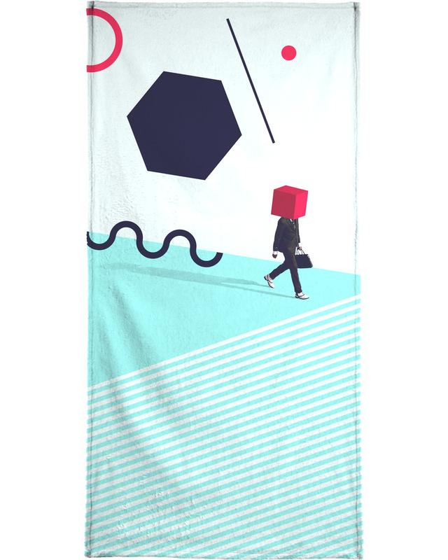 D is for Disorder Beach Towel