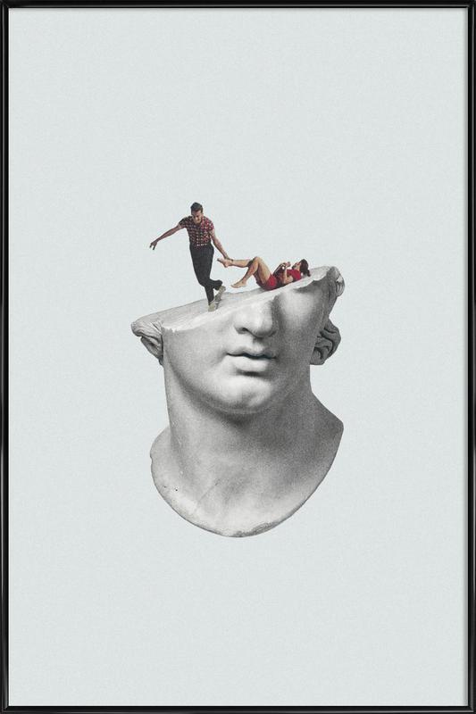 Get Out of My Head -Bild mit Kunststoffrahmen