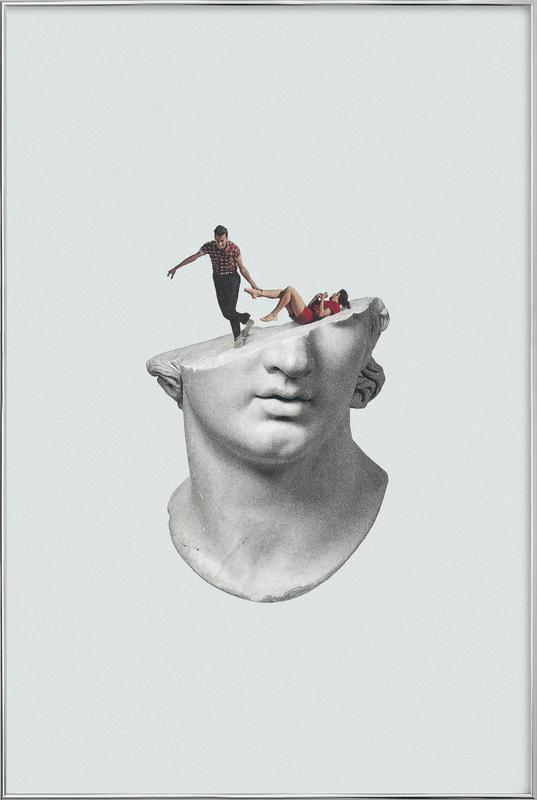Get Out of My Head poster in aluminium lijst