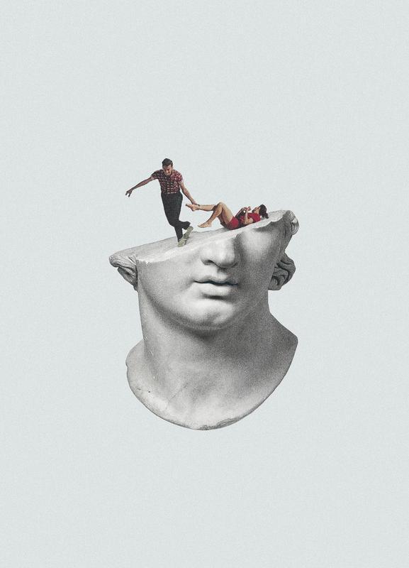 Get Out of My Head -Leinwandbild