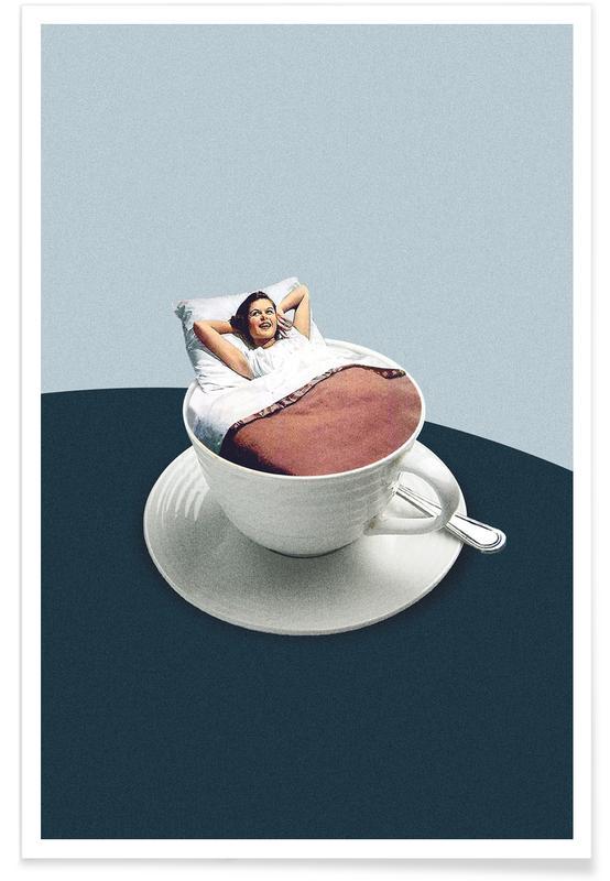 Humour, Café, Motivation, Morning Rituals affiche