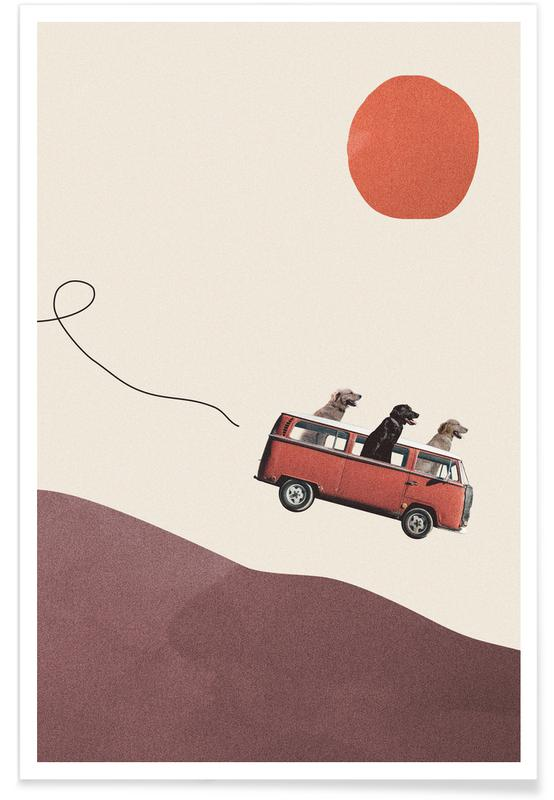 Grappig, Auto's, Adventure Gang poster