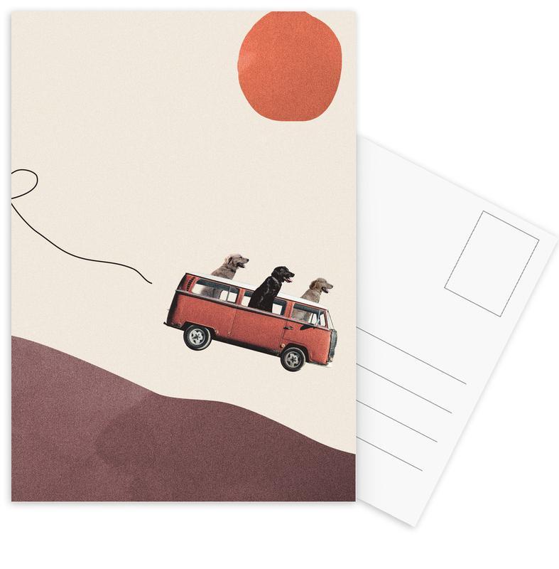 Adventure Gang -Postkartenset