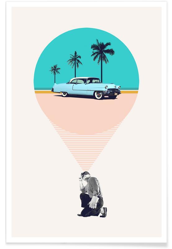 Retro, F is for Future Possibilities -Poster