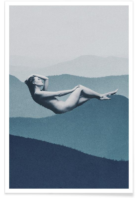 Dreamy, Mindful Solitude Poster