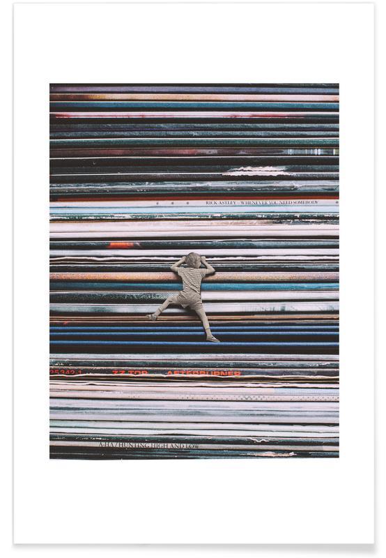 Retro, Music Lover Poster
