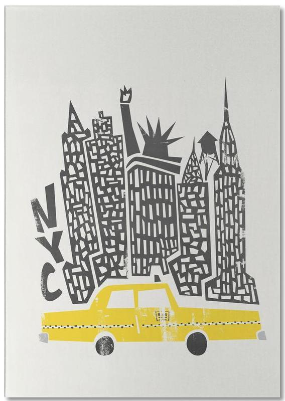 New York, New York Cityscape bloc-notes