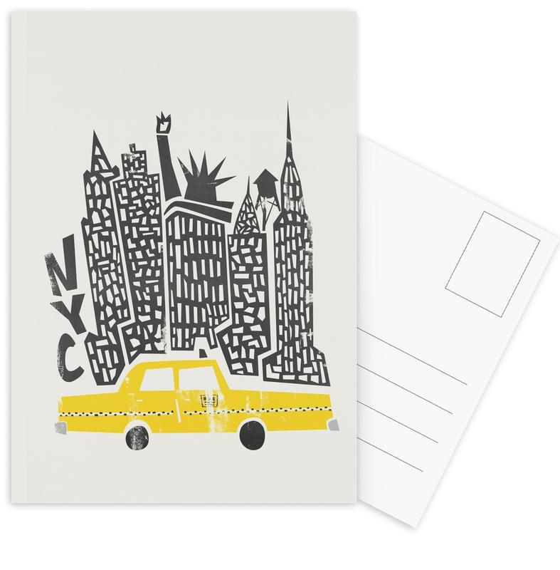 New York, New York Cityscape Postcard Set