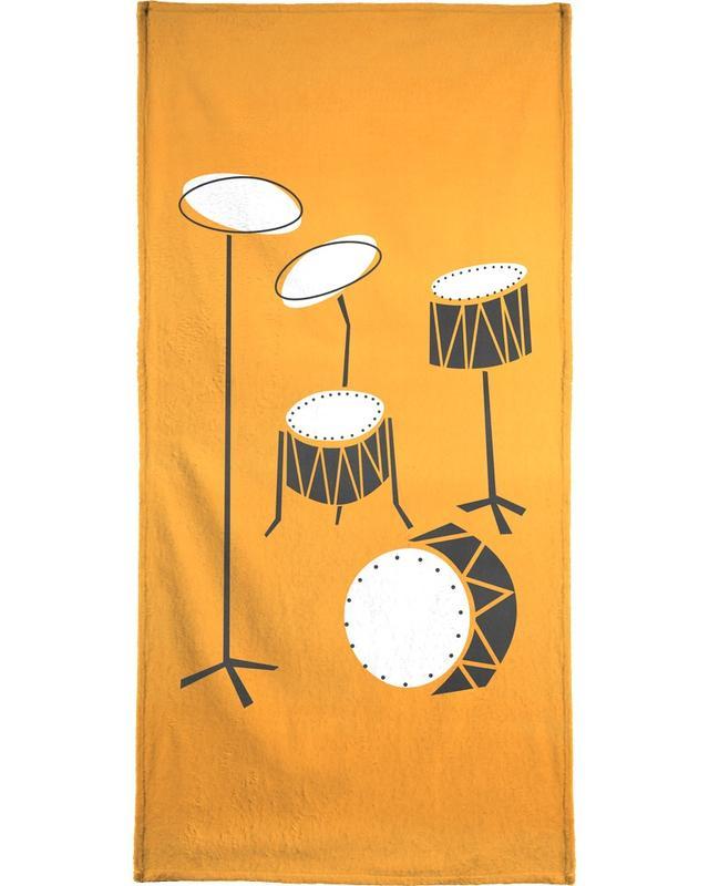 Retro, Drums -Handtuch