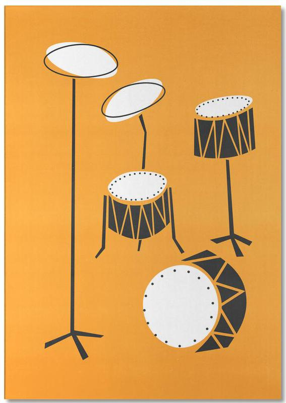 Drums -Notizblock