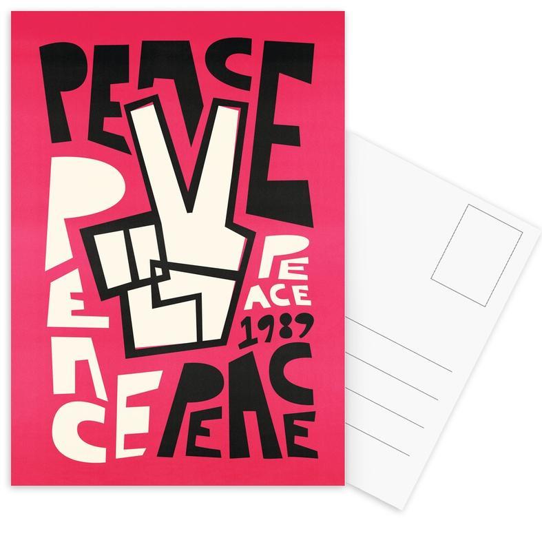, Peace Postcard Set