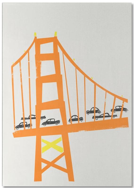 New York, Golden Gate bloc-notes