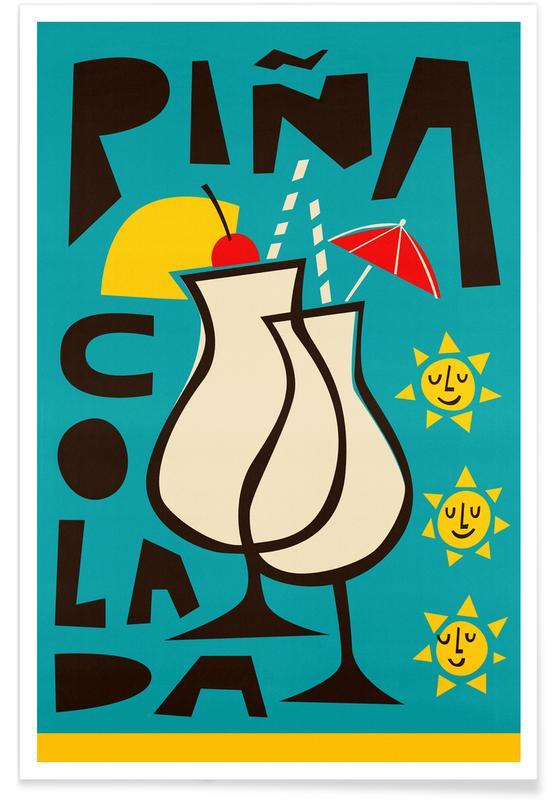 , Piña Colada Poster