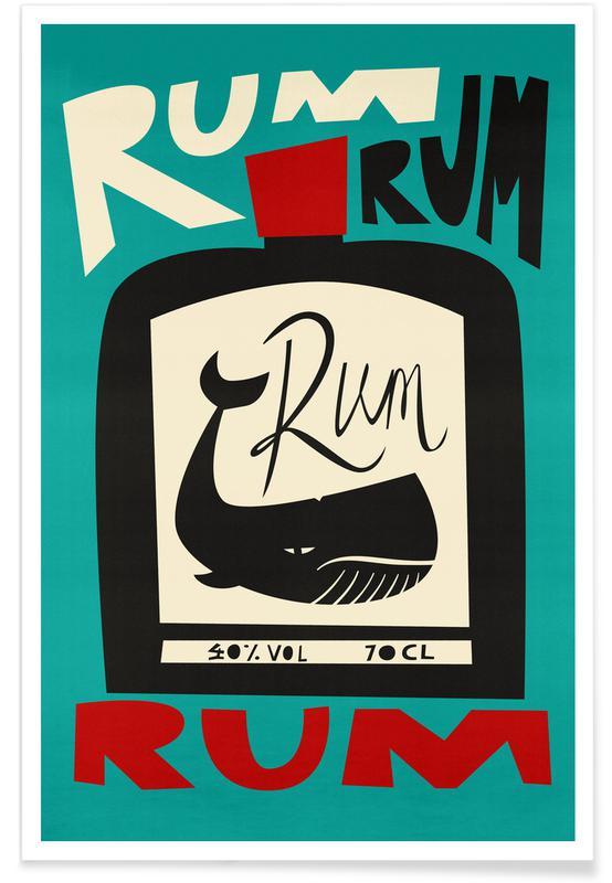 , Rum Poster