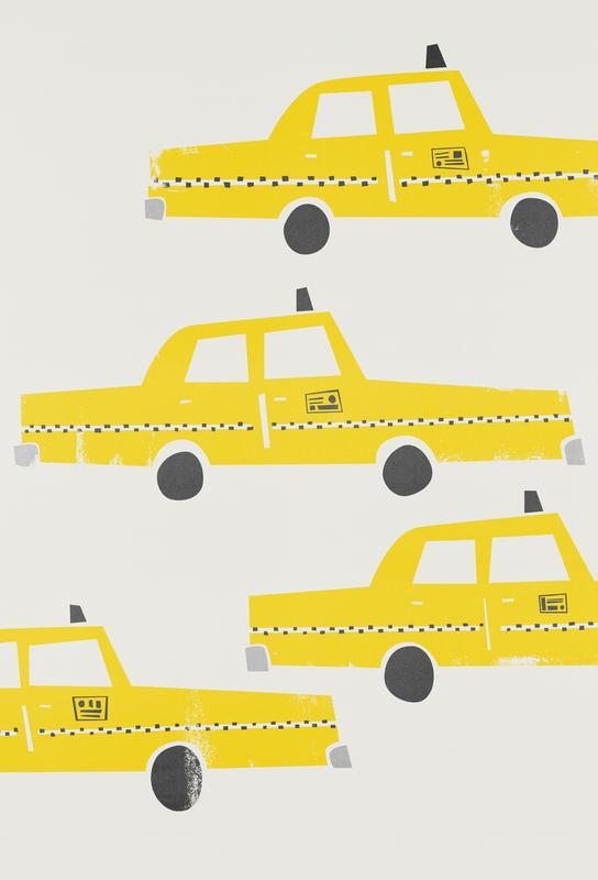 Taxi! acrylglas print