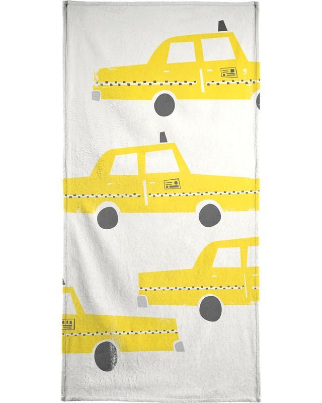Taxi! Bath Towel