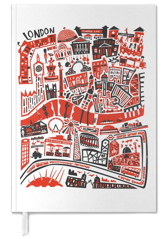 Busy London Map Personal Planner
