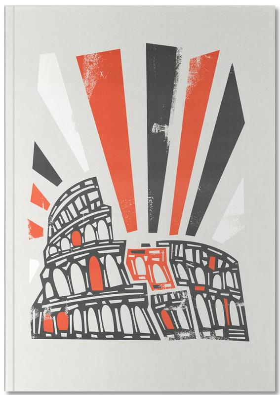 Retro, Rom, Sehenswürdigkeiten & Wahrzeichen, Colosseum Notebook