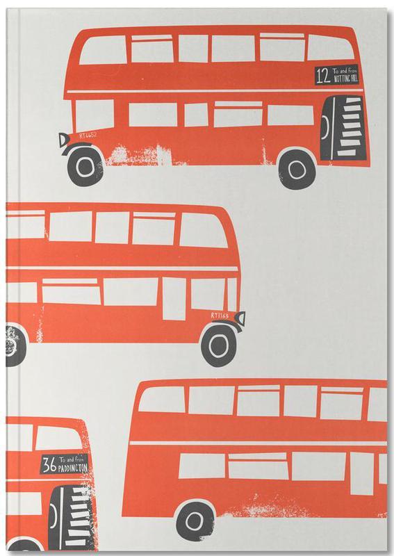 London, London Busses Notebook