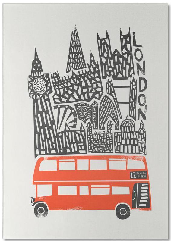 London, London Cityscape Notepad