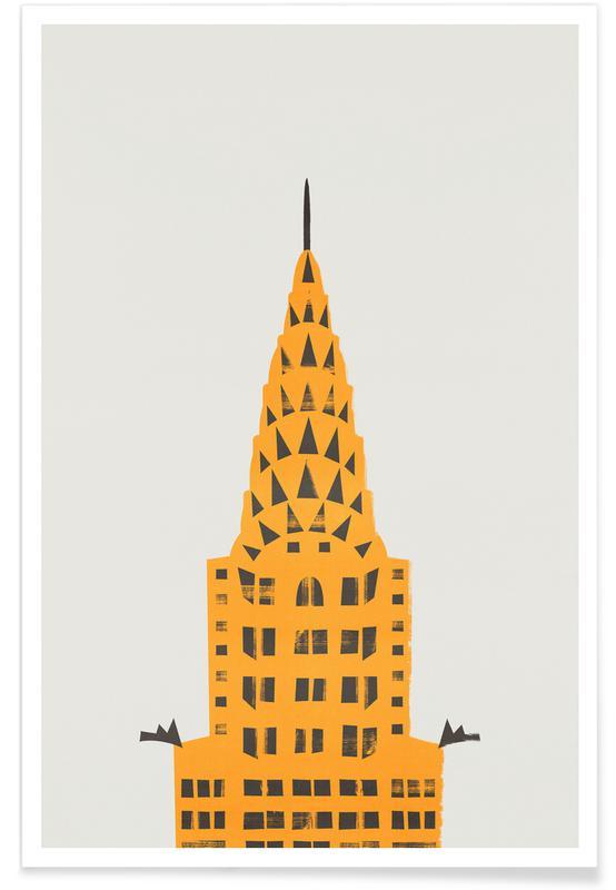 New York, Chrylser Building Poster