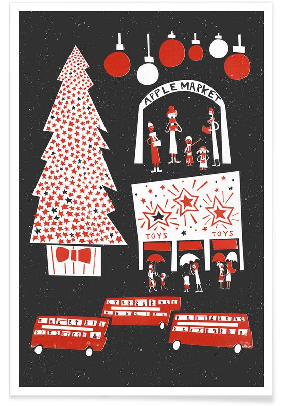 Christmas In London Poster