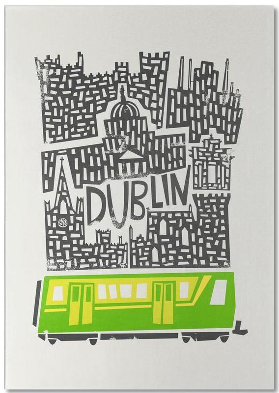 Dublin, Dublin Cityscape bloc-notes