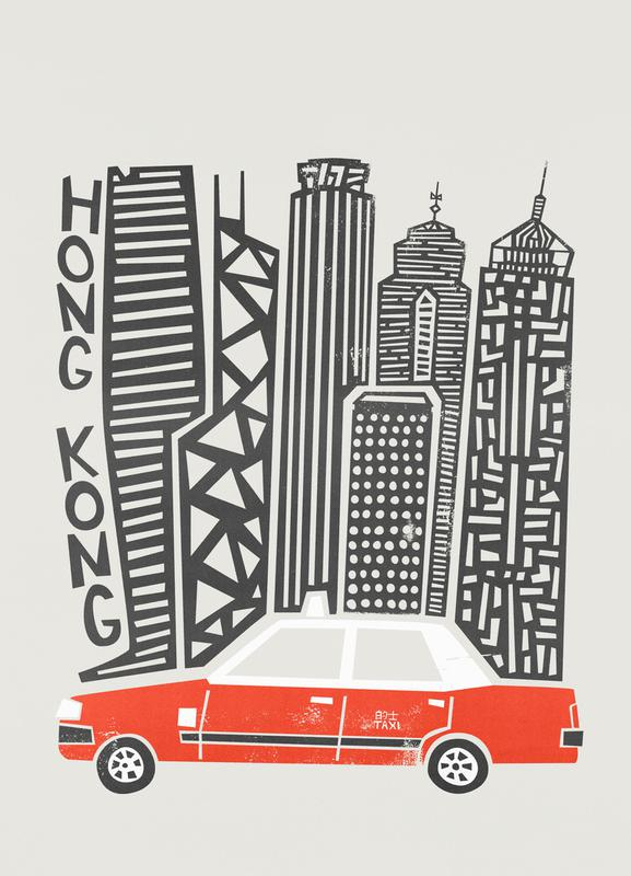 Hong Kong Cityscape Canvas Print