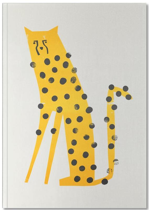 Jachtluipaarden, Kunst voor kinderen, Speedy Cheetah Notebook
