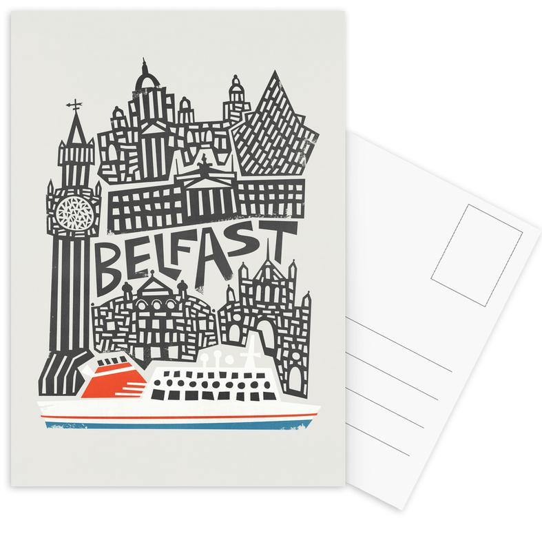 , Belfast Postcard Set
