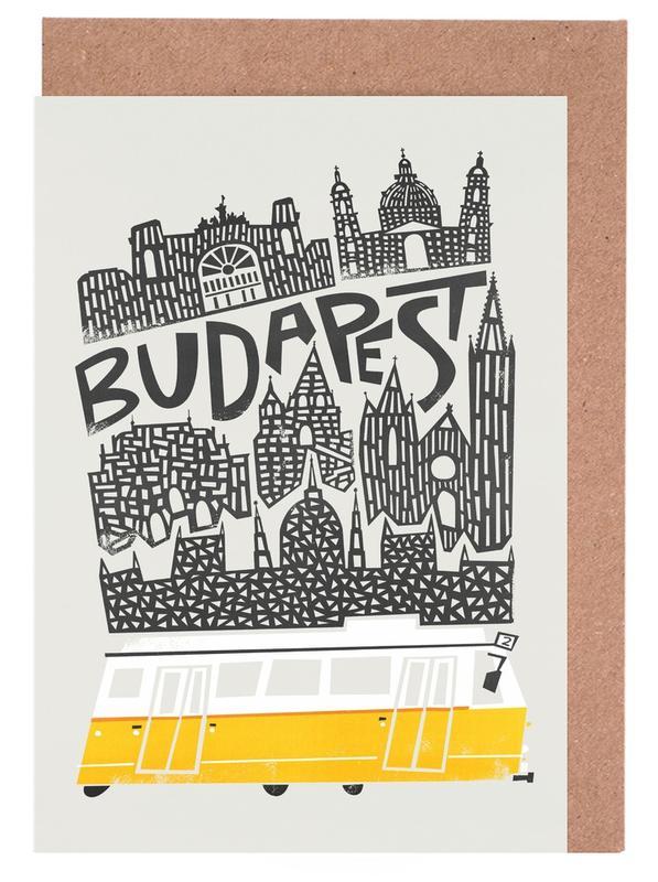 Budapest -Grußkarten-Set