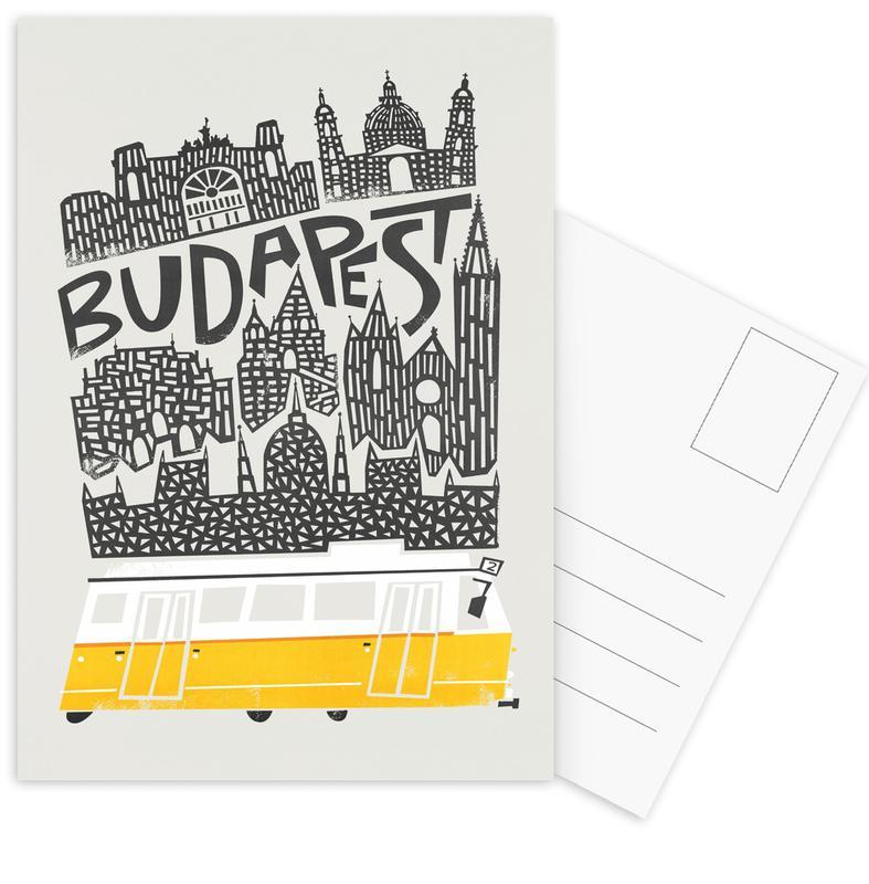 , Budapest Postcard Set